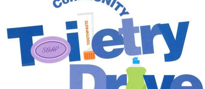 CommUNITY Toiletry Drive
