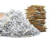 4/24/21 – Paper Shredding