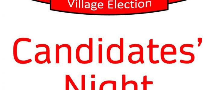 A Statement Regarding Candidates' Night.
